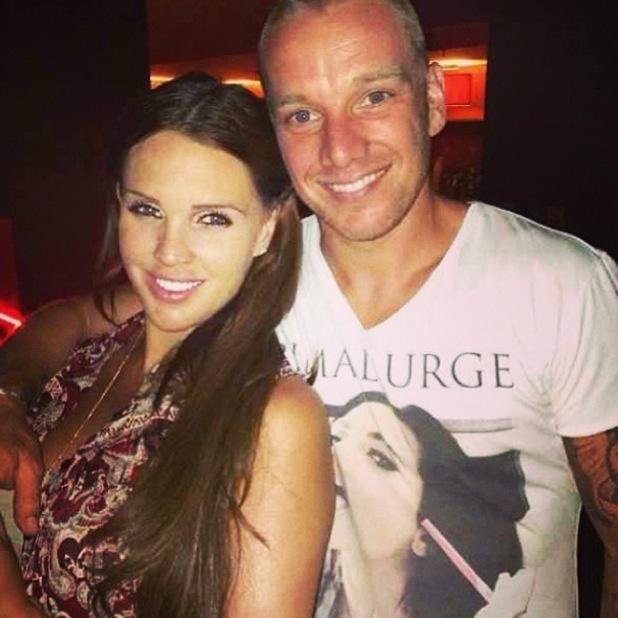 Danielle Lloyd and Jamie O'Hara - 24 January 2014