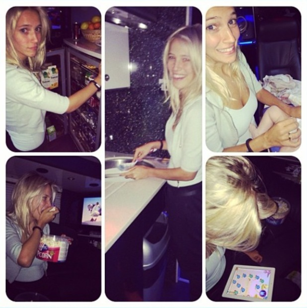 Lusiana Lopilato joins Michael Buble on tour with their son Noah - 20 January 2014