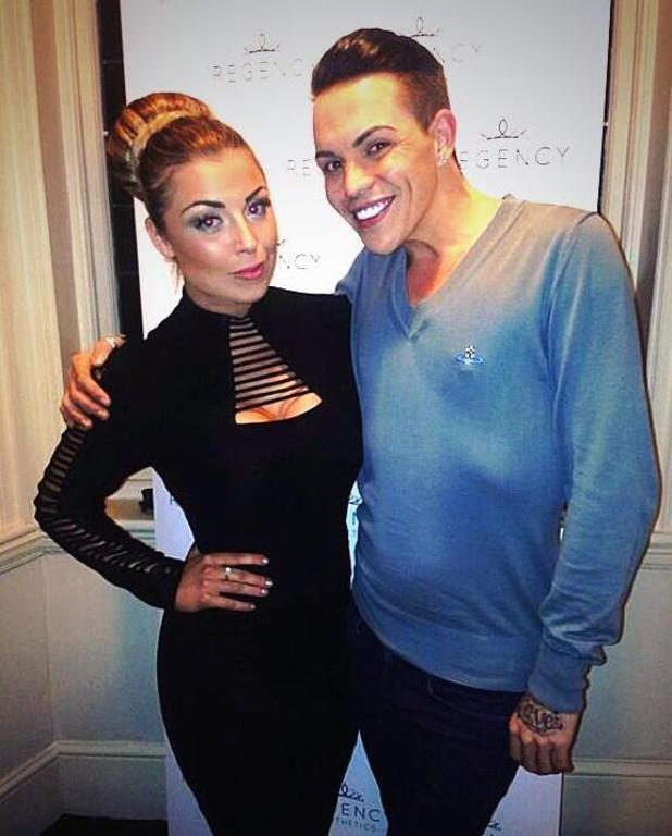 Regency Aesthetics official launch event in Wimpole Street, London Abigail Clarke, Bobby Norris