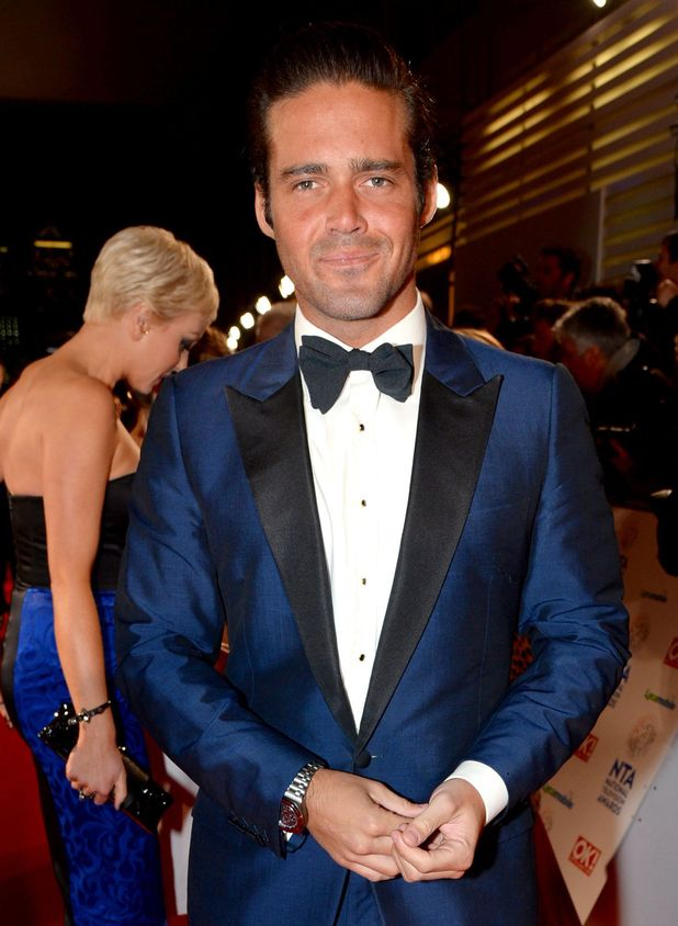 Spencer Matthews at the National Television Awards in London - 23.1.2014