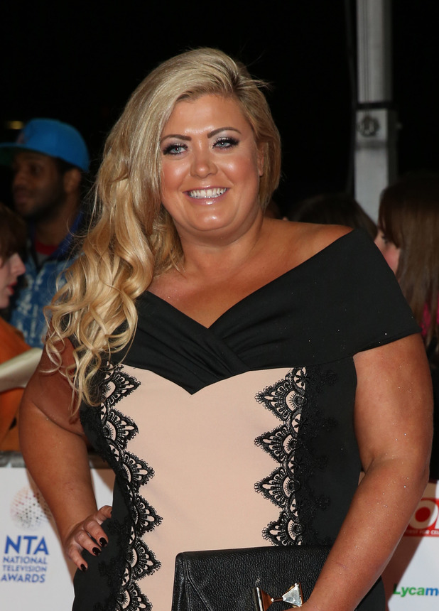 The National Television Awards 2014 (NTA's) held at the O2 Arena, London - 23.1.2014 Gemma Collins