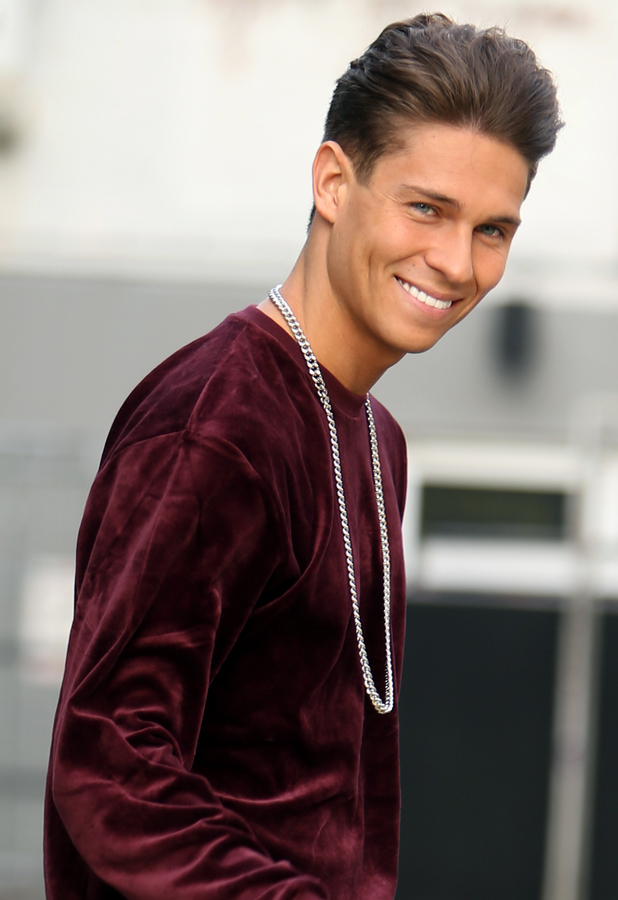 TOWIE's Joey Essex leaving the ITV studios - 12 December 2013