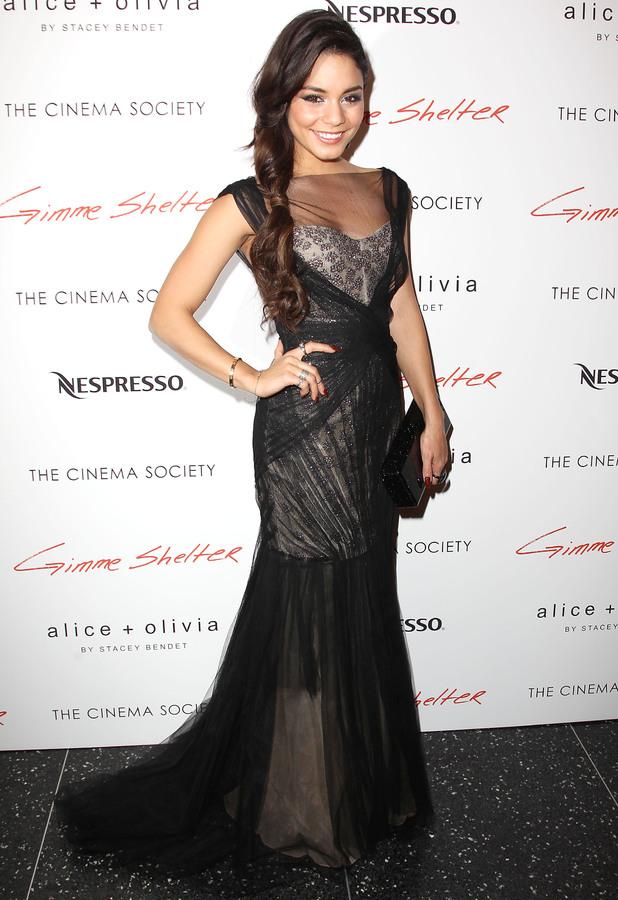 Vanessa Hudgens - 'Gimme Shelter' film screening at the Cinema Society, New York, America - 22 Jan 2014