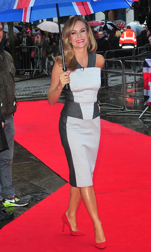 Amanda Holden at the Britain's Got Talent auditions in Belfast, Northern Ireland 18 Jan 2014