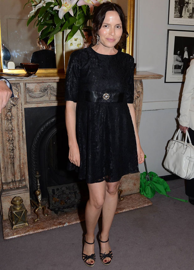 Andrea Corr, Andrea Corr, Opening night of the Oscar Wilde play 'A Woman of No Importance', The Gate Theatre - Arrivals, 2012