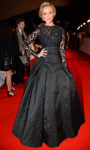 Catherine Tyldesley at the NTAs on 22 January 2014