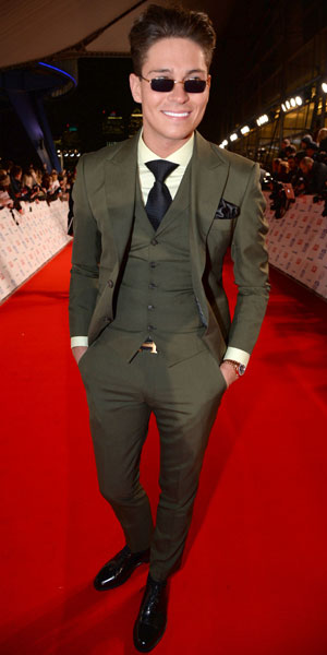 Joey Essex, National Television Awards, The O2, London, Britain - 22 Jan 2014