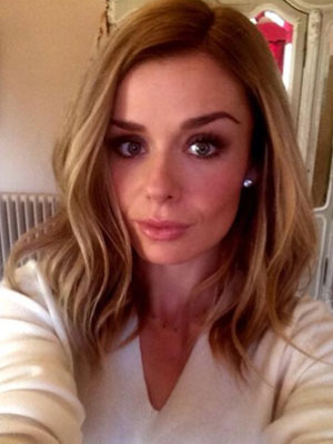 Katherine Jenkins dyes her hair darker blonde as she announces new album deal, 20 January 2014