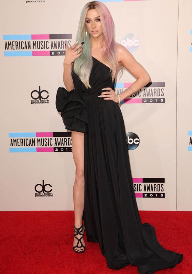 Ke$ha, 2013 American Music Awards at Nokia Theatre L.A. Live - Arrivals, 24 November 2013