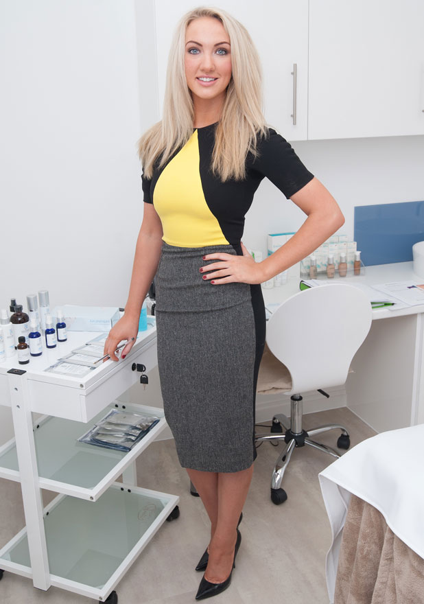 Leah Totton launches the first Dr Leah cosmetic clinic, 22 January 2014