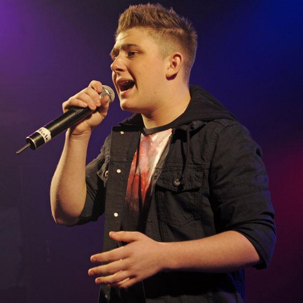 Nicholas McDonald performing at G-A-Y club in London, 11 January 2014
