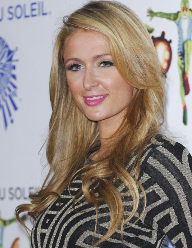 Paris Hilton, Cirque du Soleil 'Totem' celebrity opening, Los Angeles, America - 21 Jan 2014