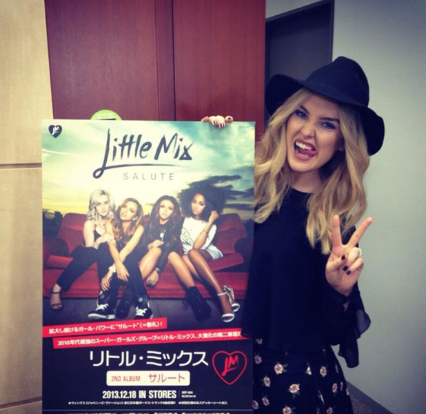 Little Mix in Japan, 24 January 2014