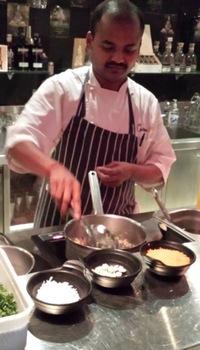 carom executive chef vishnu natarajan