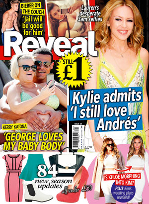 Reveal magazine cover, issue four, 2014