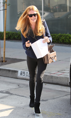 Cat Deeley out and about in Los Angeles, America - 27 Jan 2014