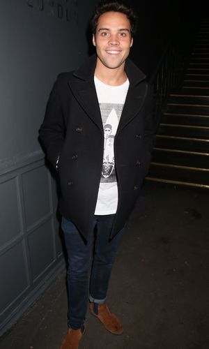 Made In Chelsea's Andy Jordan at the launch of DNA London, Clapham, London, Britain - 30 Jan 2014