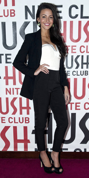 Michelle Keegan makes a personal appearence at Hush nightclub in Dublin, 1 February 2014