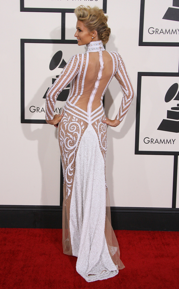 Paris Hilton, The 56th Annual GRAMMY Awards (2014) held at the Staples Center in Los Angeles, CA. 26-1-2014