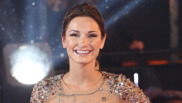 TOWIE's Sam Faiers at the Celebrity Big Brother final in London, England - 29 January 2014