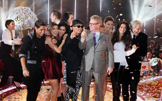 'Celebrity Big Brother' final, Elstree Studios, Hertfordshire, Britain - 29 Jan 2014