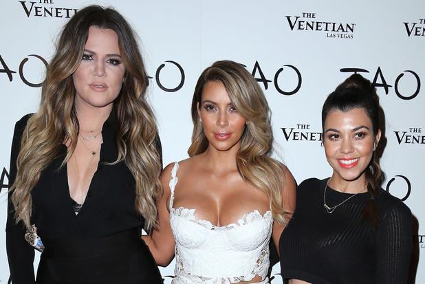 Khloe Kardashian, Kim Kardashian, Kourtney Kardashian celebrate Kim's birthday at TAO Las Vegas, 25 October 2013