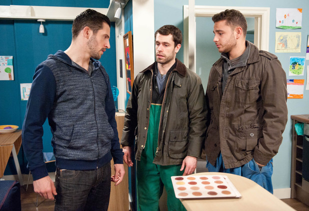 Emmerdale, Ross wants to move in with Andy, Wed 29 Jan