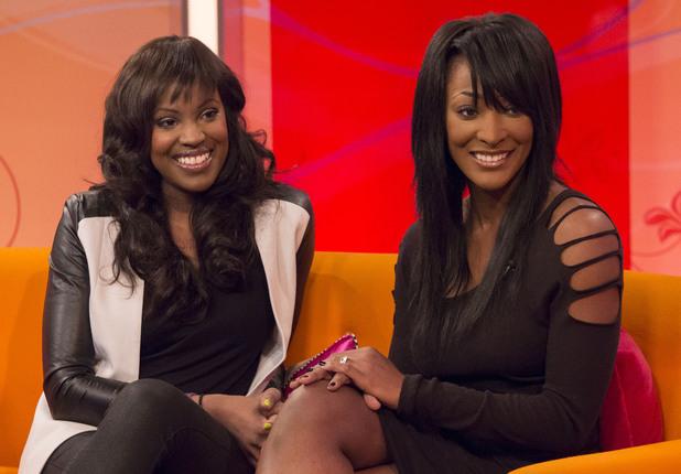Kelle Bryan and Vernie Bennet - 'Lorraine Live' TV Programme, London, Britain. - 27 Jan 2014