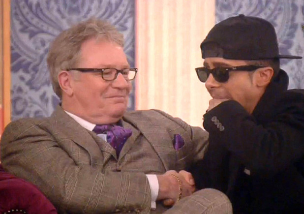 'Celebrity Big Brother' TV show, Elstree Studios, Hertfordshire, Britain - 29 Jan 2014 Jim Davidson wins, Dappy is runner-up