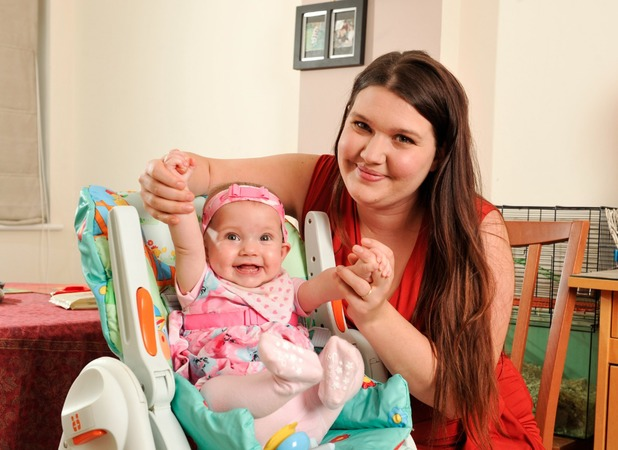 Sarah Rollings, my baby needed an operation in my womb