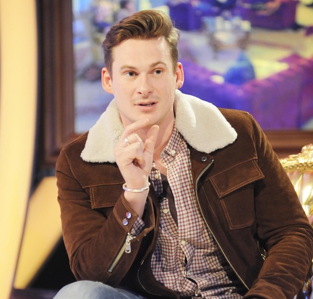 Celebrity Big Brother: Lee Ryan gets evicted (26 January 2014).