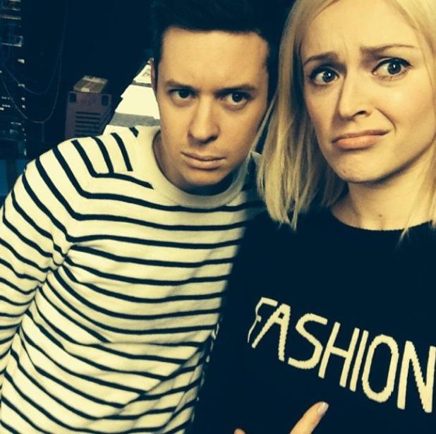 Fearne Cotton wearing Fashion jumper