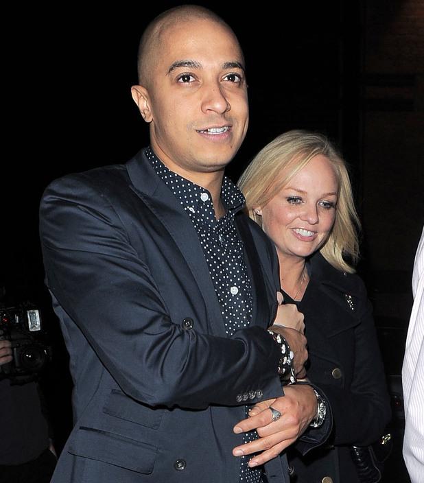 Emma Bunton,Jade Jones: Celebrities leaving Gilgamesh in Camden 21/12/2012