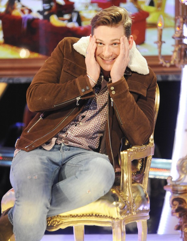 Celebrity Big Brother - Lee Ryan evicted from the house. (26 January 2014).