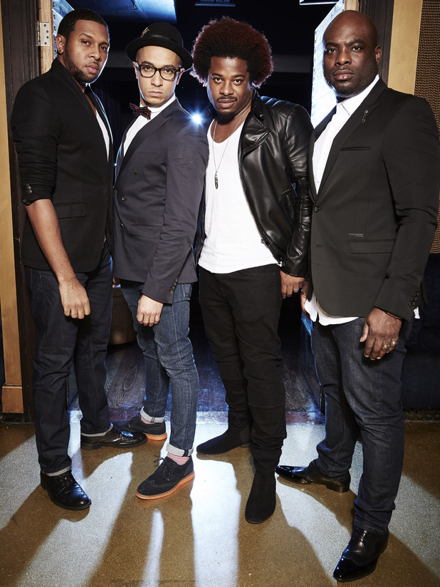 The Big Reunion 2014 - Picture Shows: DAMAGE - RAHSANN, JADE, ANDREZ and NOEL