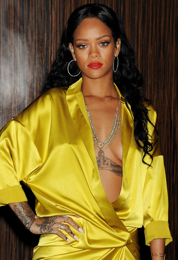 Rihanna - Clive Davis and Recording Academy Pre-Grammy Gala in Los Angeles, America - 25 January 2014