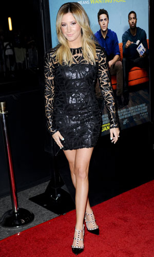 Ashley Tisdale appears at Awkward Moment premiere in Los Angeles, 27 January 2014