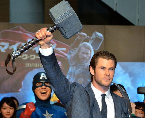 Chris Hemsworth, Thor: The Dark World' Tokyo premiere, 26 January 2014