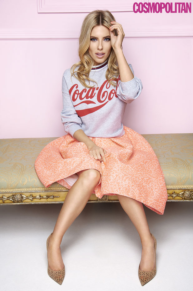 Mollie King in Cosmopolitan, March 2014 issue, on sale 30 January 2014