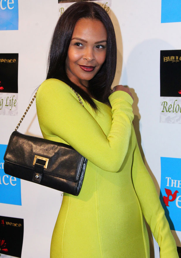 Samantha Mumba at Reloading Life: The Art of Peace, Anti Gun Violence event held at The Supperclub - Arrivals, November 2013