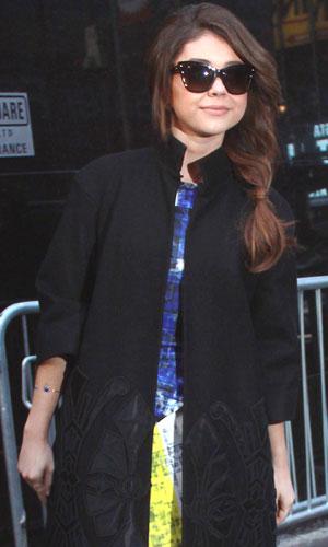 Sarah Hyland at ABC studios for 'Good Morning America', 29 January 2014