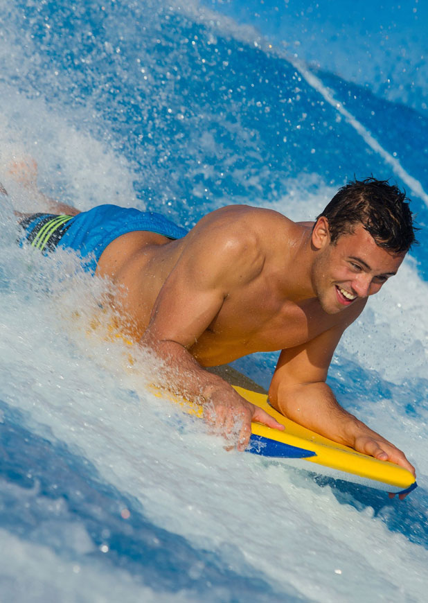 Tom Daley promotes Royal Caribbean's new line-up of Caribbean sailings - 29 Jan 2014