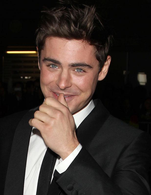 Zac Efron at That Awkward Moment premiere, Los Angeles, 28 January 2014