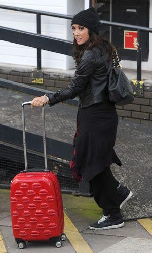 Celebrities outside ITV studios, London, Britain - 04 Feb 2014 Myleene Klass