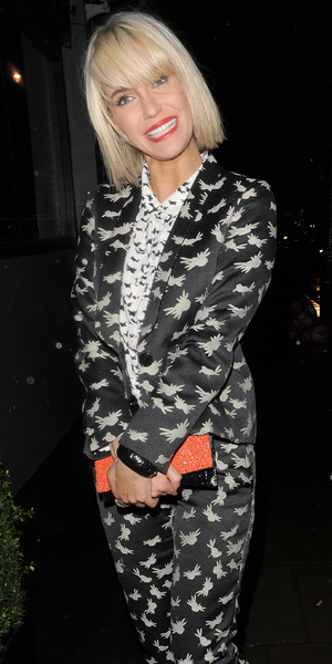 Sarah Harding makes her way to the Best of British Talent Party in London, England - 4 February 2014