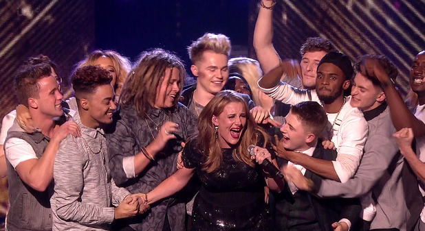 The X Factor Final - Results Sam Bailey performs her winning song 'Skyscraper' on 'The X Factor Final - Results'. Shown on ITV1 HD