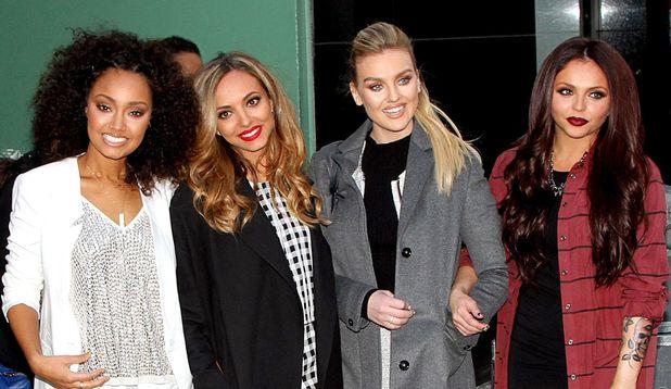 Little Mix, 'Good Morning America' TV show, New York, America - 04 Feb 2014