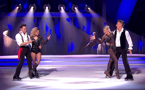 Ray Quinn, Maria Filippov, Suzanne Shaw, Matt Evers - Couple perform The Duel 'Dancing On Ice', shown on ITV1 HD 02/03/2014.