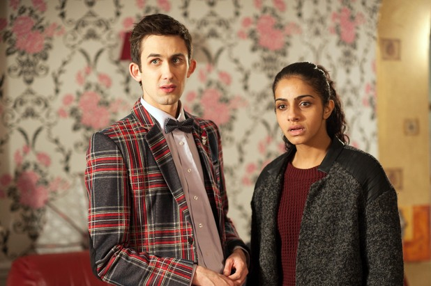 Hollyoaks, George and Phoebe prepare for court, Mon 10 Feb