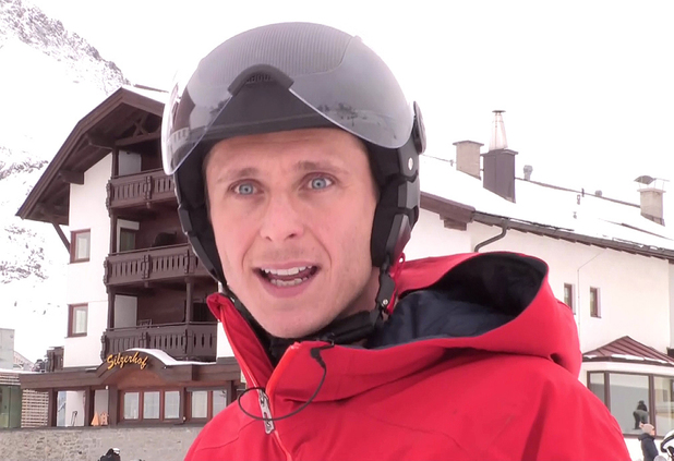 Ritchie Neville on The Jump - January 2014